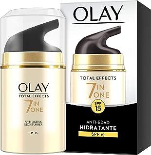 Olay Total Effects 7en1 Hidratante Anti-Edad De Día SPF15 50ml, Combate Los 7 Signos De La Edad