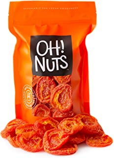 Oh! Nuts Dried California Apricots | 1lb Bulk Bag Fresh Dehydrated Tart Apricot Pieces for Snacking & Baking | No Sugar Ad...