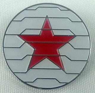 Marvel's Captain America Movie - WINTER SOLDIER - Enamel Lapel Pin - Avengers! Bucky