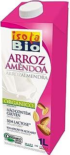 Isola Bio Bebida Vegetal de Arroz con Almendra - Paquete de 6 x 1000 ml - Total: 6000 ml