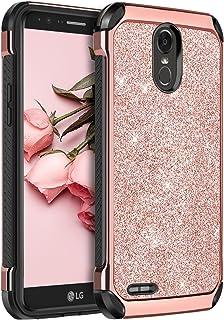 LG Stylo 3 Case, LG Stylo 3 Plus Case, LG Stylus 3 Case, BENTOBEN Glitter 2 in 1 Hybrid..