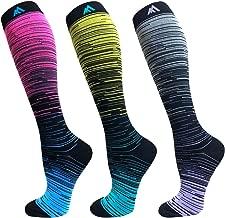 Compression Socks For Men Women 15-25mmHg Best Stockings Fit For Running,Nurse,Medical,Pregnancy