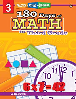 180 Days of Math Series for Third Grade