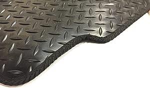 PRESENT Tailored 5mm Rubber Car Mats Black
