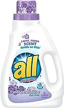 all Fresh & Sensitive Laundry Detergent, 46.5 Fl. Oz (1 Count), 46