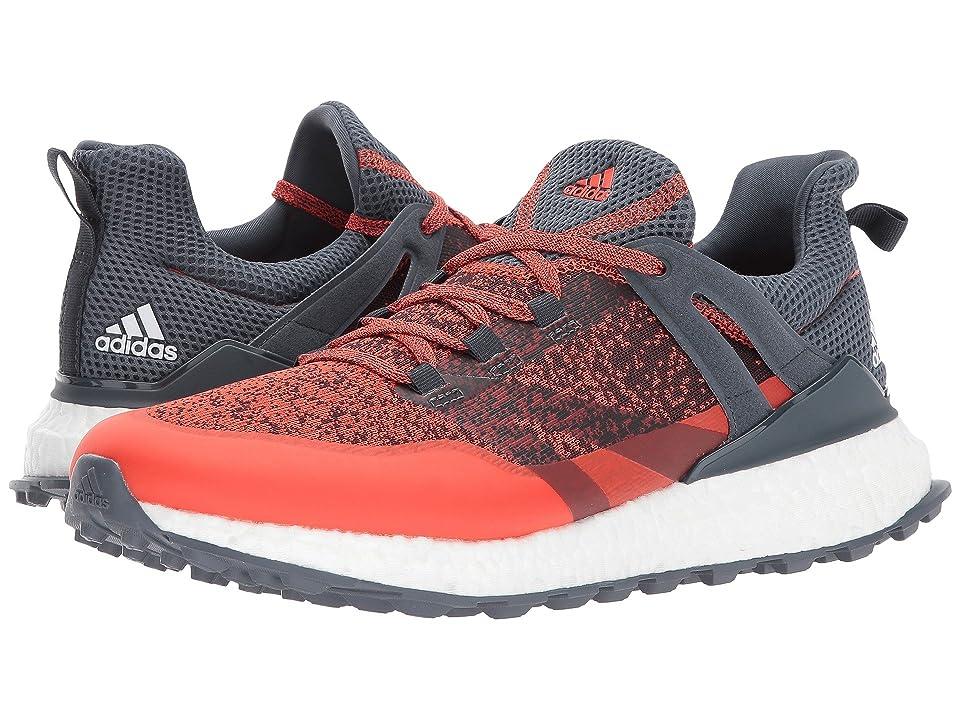 adidas Golf Crossknit Boost (Blaze Orange/Bold Onyx/Bold Onyx) Men