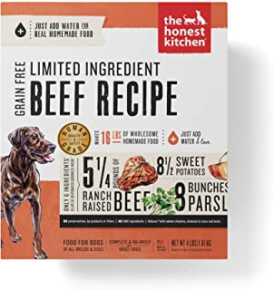 Sponsored Ad - The Honest Kitchen Dehydrated Grain Free Limited Ingredient Dog Food