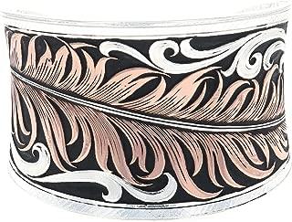 Montana Silversmiths Hopes Feather Bracelet
