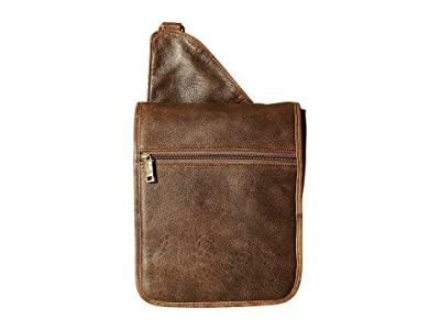 Scully Squadron Small Travel Messenger (Brown) Messenger Bags