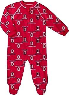 NCAA Ohio State Buckeyes Rookie Gray S//S Toddler Creeper Onesie