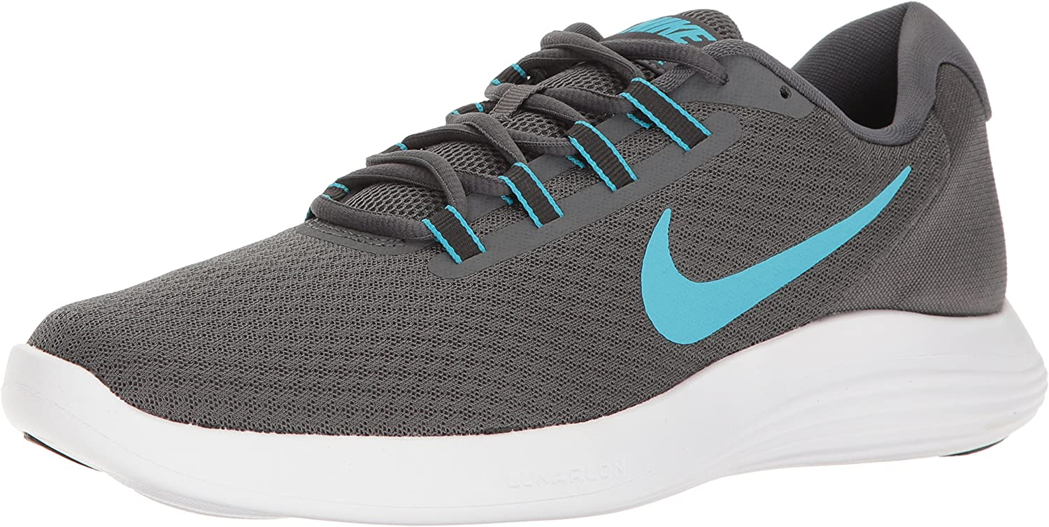 dc4d014a NIKE NIKE NIKE Men's Lunarconverge Running shoes, Dark Grey Chlorine ...
