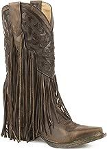 Stetson Women's Sloane Fringe Boot Snip Toe