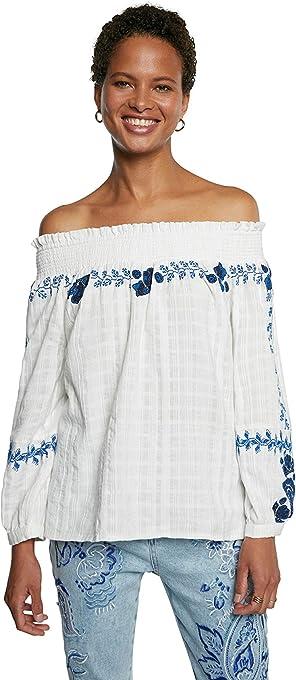 Desigual Blus_Sena Camicia Donna