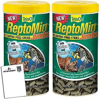 Reptomin Tetra Jumbo Floating Food Sticks 10.23 oz (Pack of 2)