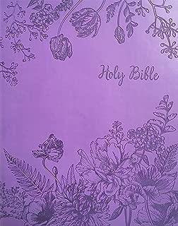 KJV Sword Study Bible Giant Print Designer Purple Ultrasoft: King James Version