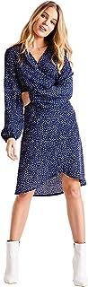 فستان حريمي وردي اللون من Mela London