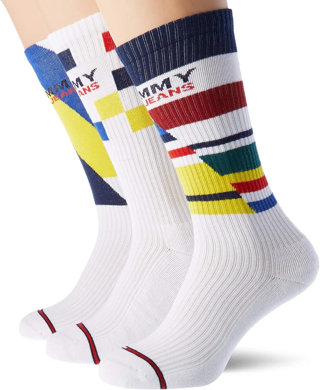 Tommy Hilfiger 2-Pack Vintage Logo Sports Socks, White