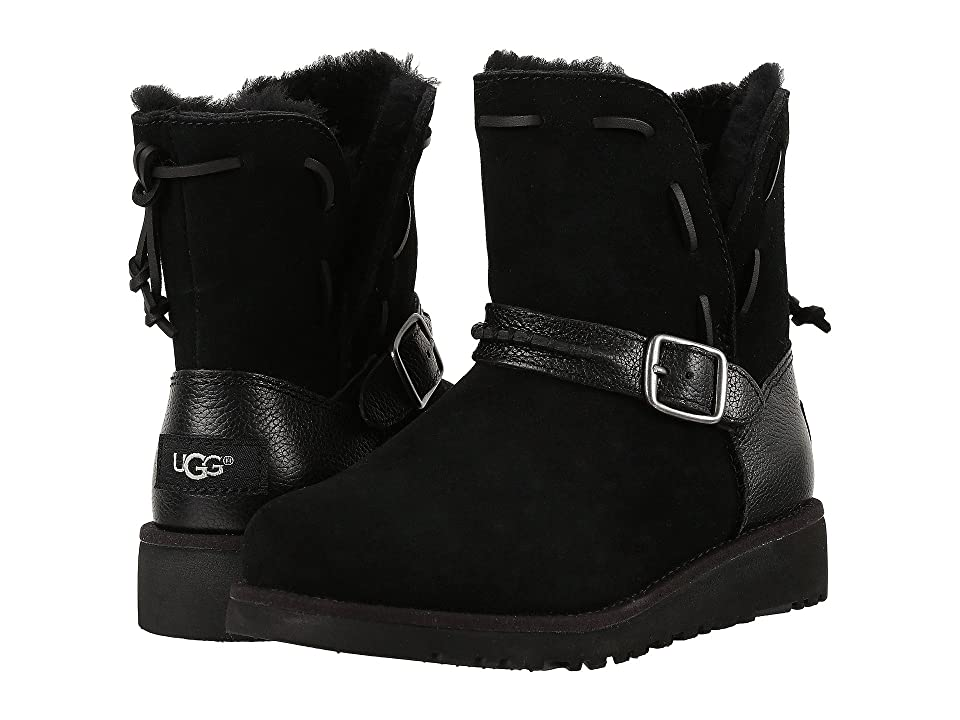UGG Kids Tacey (Little Kid/Big Kid) (Black) Girls Shoes