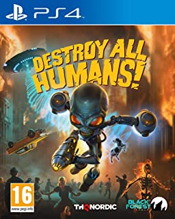 Destroy All Humans (PS4)