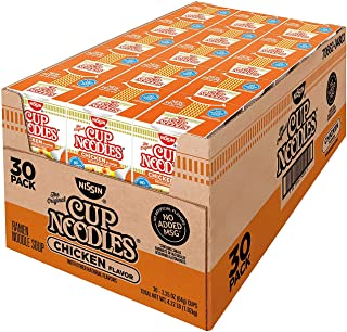 Nissin Cup Noodles, Chicken Flavor 2.25 oz ea, 30 ct. A1
