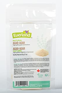 Everland Agar Agar, 50gm