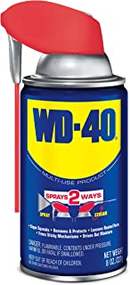 WD-40 Multi-Use Product with SMART STRAW SPRAYS 2 WAYS, 8 OZ  [6-Pack]