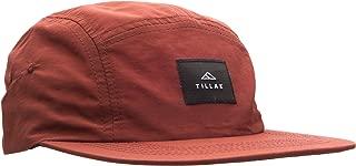 Tillak Wallowa Camp Hat, Lightweight Nylon 5 Panel Cap with Snap Closure