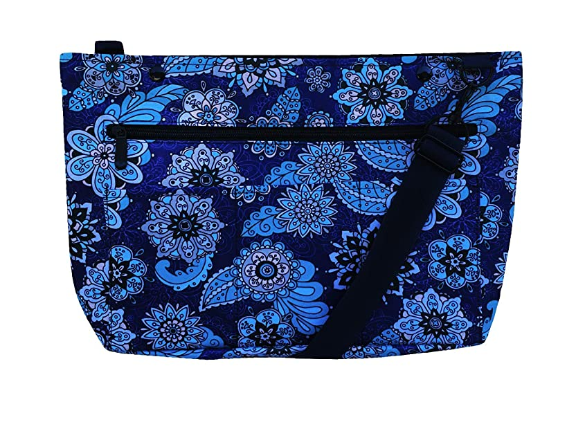 Snapster Snap On Tote Bag for Walker, Stroller or Shopping Cart (Midnight Shadow)