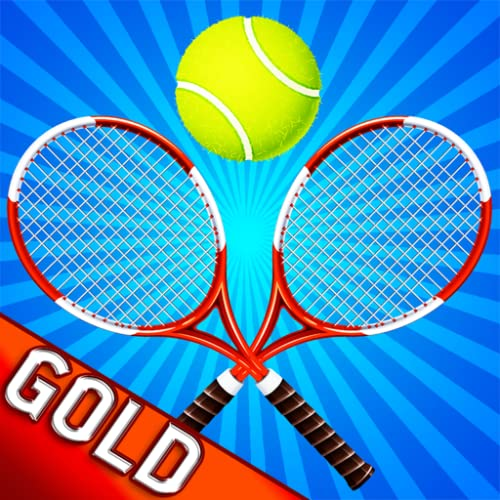 pelota de tenis locura patio tiro largo - gold edition