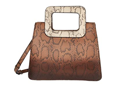 Vince Camuto Kenni Satchel (Snake Mix) Satchel Handbags