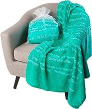 BlankieGram Healing Thoughts Blanket (Teal)
