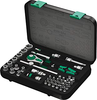 Wera 8100 SA 4 Zyklop Ratchet Set with 1/4