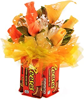 Artfully Delicious Arrangements Edible Vase Candy Bouquet Gift Basket