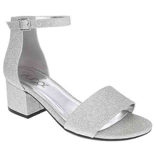 Silver Prom Shoes Amazon Com