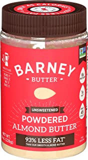 Barney Butter Powdered Almond Butter, Unsweetened, 8 Ounce