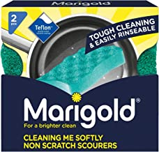 Marigold Cleaning Me Softly Non-Scratch Scourer, 14 Packs of 2 Scourers