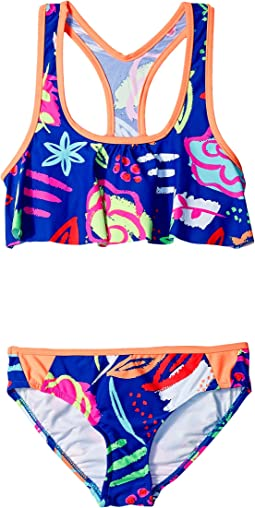 Seafolly Kids - Neon Pop Tankini (Little Kids/Big Kids)
