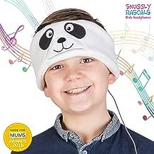 Snuggly Rascals (V2 Kids Headphones - Headphones for Kids - Comfortable, Adjustable & Volume Limited - Great for Travel & Children'S Tablets & Smartphones - for Girls & Boys - Fleece - Panda