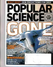 POPULAR SCIENCE Magazine (Jan 2012) GONE: The Science of Stealth