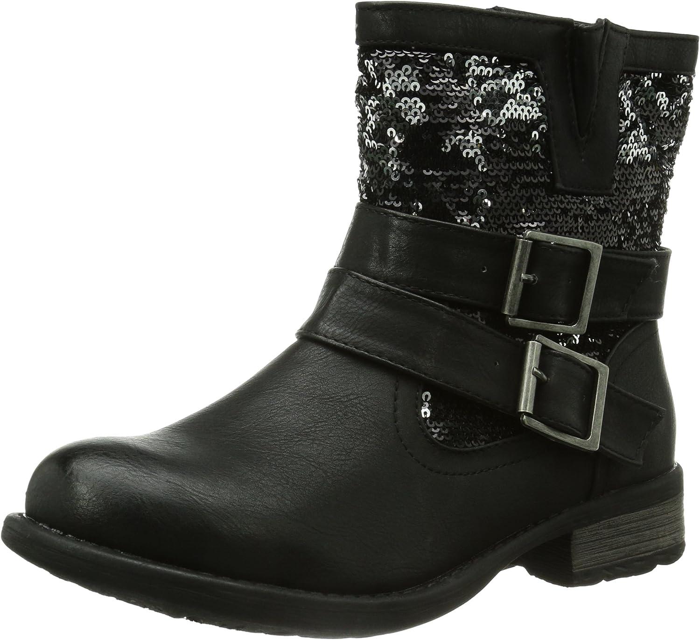 Rieker Women Ankle Boots black, (black black-silb) 97263-00