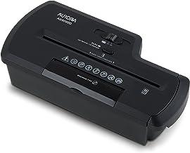 Aurora AU800SD Professional Strip Cut Paper Shredder/CD/Credit Card Shredder Without Wastebasket, 8-Sheet Strip-Cut No Bas...