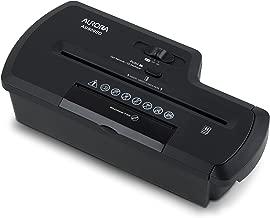 Aurora AU800SD Professional Strip Cut Paper Shredder/CD/Credit Card Shredder Without Wastebasket