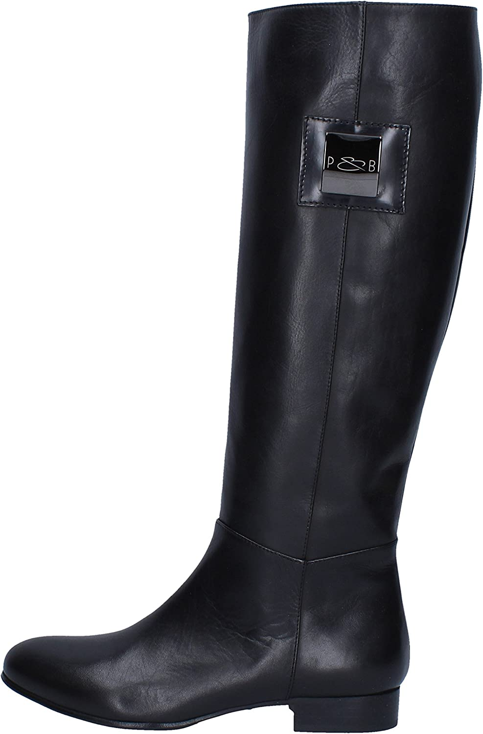PAUL & BETTY Boots Womens Leather Black
