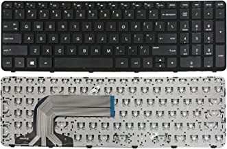 GinTai Laptop US Keyboard w/ Frame Replacement For HP 15-r263dx 15-R030WM 15-R063nr 15-r138ca 15-r174ca 15-r011dx 15-r029wm 15-r181nr 15-r052nr 15-g074nr 15-G 15-R 749650-001 LS-A991P 250 G3 255 G3