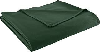 Chesapeake Merchandising 100-Percent Cotton Ribcord Bed Spread, Dark Green Queen