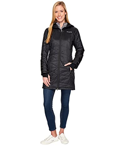 Columbia Mighty Litetm Hooded Jacket (Black 2) Women