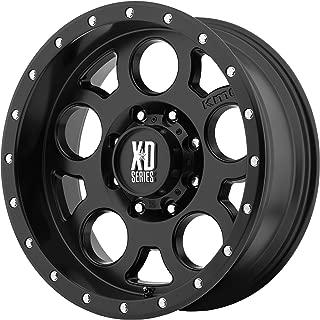 XD Series by KMC Wheels XD126 Enduro Pro Satin Black Wheel (17x9