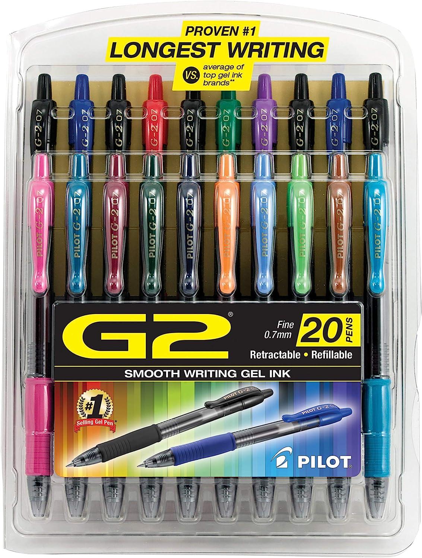 PILOT G2 Premium Refillable Retractable Pens Gel Be super welcome 2021 Ball Rolling