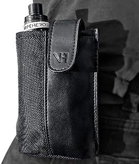 VapeHero E-Zigaretten Gürtel- und Hüft-Tasche aus Leder und Polyester | Wasserabweisend | Passend für alle großen und kleinen Box Mods