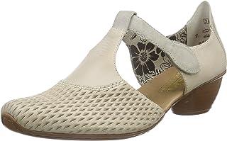 Rieker 43736, Chaussures à Talons-Avant du Pieds Couvert Femme
